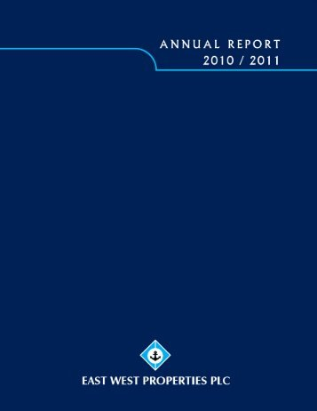Annual Report 2010/2011 - Colombo Stock Exchange