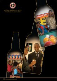 Tanzania Breweries Limited Annual Report and ... - SABMiller