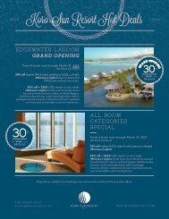 Koro Sun Resort Hot Deals