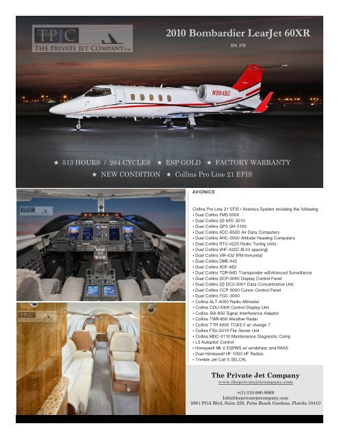 2010 Bombardier LearJet 60XR - Business Air Today