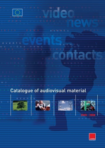 Catalogue of audiovisual material - Mostra