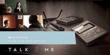 Digi-wave™ Two-way Personal Communication - Williams Sound