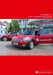 Sparkassen-Edition: Individualität vor Ort