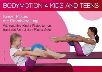 Postkarte - Pilates Bodymotion