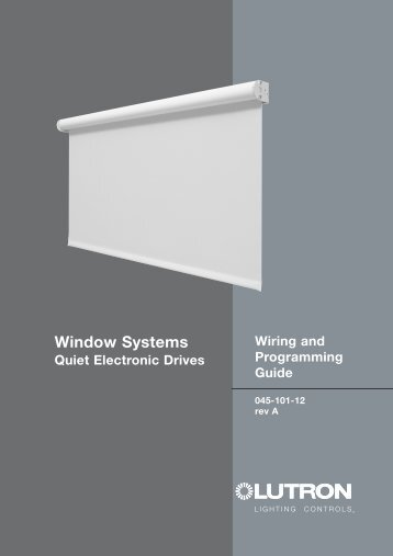 045-101-12a QED wiring guide - Lutron