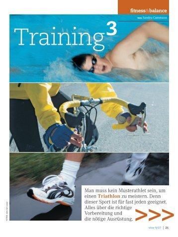 Triathlon - Sandra Cammann