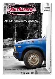 Online Community Magazin Ich will!!!