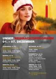 Weihnachtsprogramm 2012 - Phoenix-Center, Hamburg