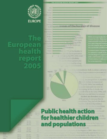 The European Health Report 2005 - World Health Organization ...