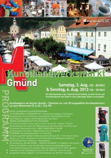 Sonntag, 4. Aug. 2013 (10 - 18 Uhr)