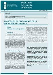 28693 Boletín Información Terapéutica nº2.qxd