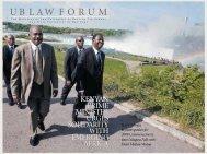 UB LAW F O R U M - SUNY Buffalo Law School - University at Buffalo