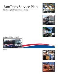 Final Adopted Recommendations, adopted May 1, 2013 - SamTrans