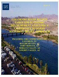 Colorado River Region Targeted Economic Development Analysis ...