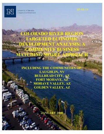 Colorado River Region Targeted Economic Development Analysis ...