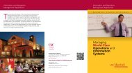 Information and Operations Management Department - USC Marshall