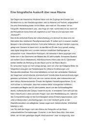 Eine fotografische Auskunft über neue Räume (PDF) - Lea Titz
