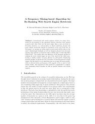 A Frequency Mining-based Algorithm for Re-Ranking Web Search ...