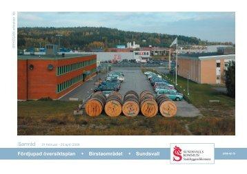 FÖP Birsta 080215.indd - Sundsvall