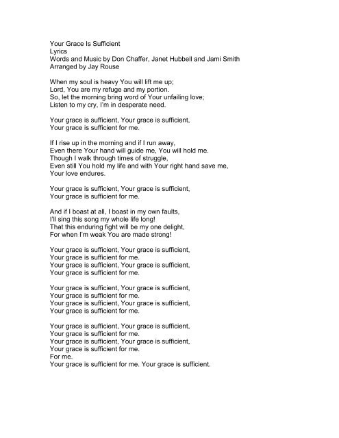 Life lyrics my love is your MERCY CHINWO