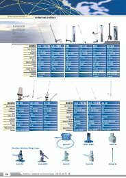 Antenne radio FM, bande marine Antenne émission et ... - infoyachting
