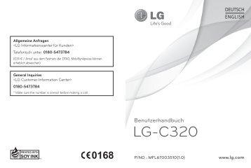 LG-C320 Benutzerhandbuch - Altehandys.de
