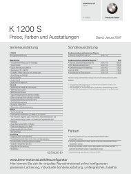 K 1200 S - Face the Power