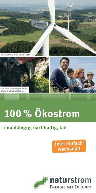 % Ökostrom - Naturstrom