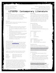 Distance Learning Spring 2011 Syllabus - Faculty Web site ...