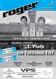 1. Platz im Tollhaus THF - Roger - Luftfahrtnachrichten für Berlin und ...