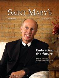 SM Mag Cover - Saint Mary's University of Minnesota