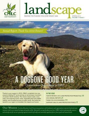 2013 Spring Newsletter & Annual Report for 2012 - Carolina ...