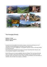 Tour Auvergne (France) - Lammis-Moto-Site