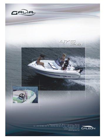 Galia 475 Open - LH Marine ApS