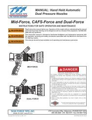 Mid-Force, CAFS-Force and Dual-Force - Task Force Tips