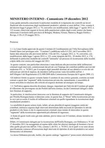 Scarica il documento - CGIL Modena