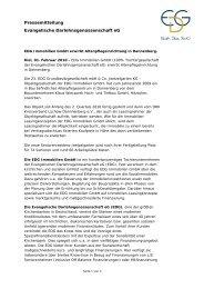 EDG Immobilien GmbH erwirbt Altenpflegeeinrichtung in Dannenberg