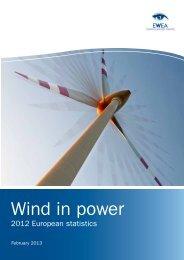 Wind in power