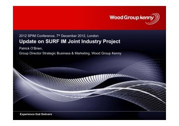 Wood Group Kenny - Subsea UK