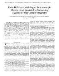 Finite Difference Modeling of the Anisotropic Electric Fields ...
