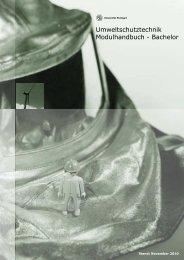 Umweltschutztechnik Modulhandbuch - Bachelor - Universität Stuttgart