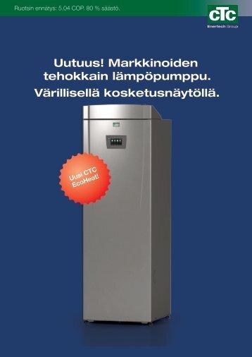 CTC Ecoheat 300 tuote-esite - Enermix
