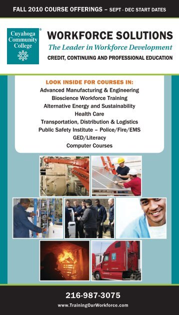 Workforce SolutionS - Cuyahoga Community College