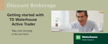 Discount Brokerage - TD Waterhouse