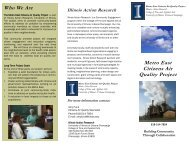 Metro East Citizens Air Quality Project - East St. Louis Action ...