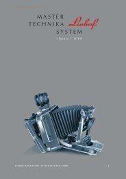 MASTER TECHNIKA SYSTEM - Linhof & Studio