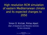 High Resolution RCM Simulation of Eastern ... - LinkSCEEM
