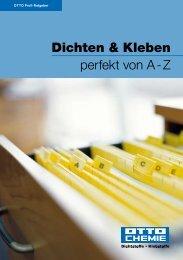 Dichten & Kleben perfekt von A - Z - Northe