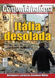Terremoto faz vítimas e destrói patrimônio ... - Comunità italiana