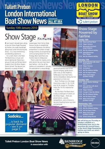 LondonInternational BoatShowNews - London Boat Show